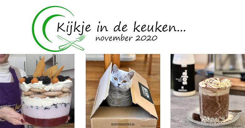 Kijkje in de keuken – november 2020