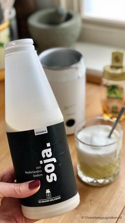 De eerste 100% Nederlandse soja melk