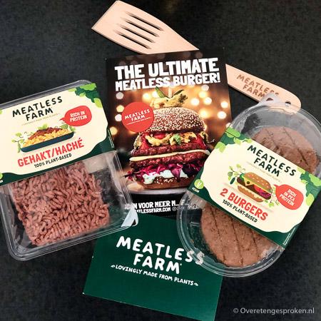 Meatless Farm burgers en gehakt