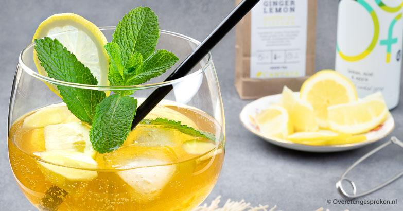 De lekkerste ice tea maak je zelf