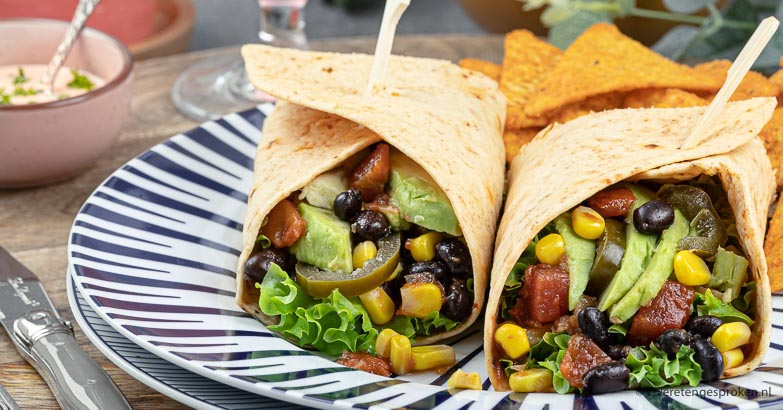 Mexicaanse lunch wrap