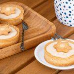 Panna cotta tartelettes - Romige vulling met de zoete smaak van vruchtenthee. De vulling is ook heerlijk als toetje. Snel maken dus!